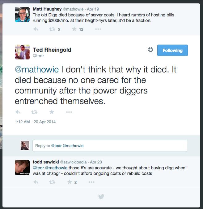 todd sawicki on digg's technical debt